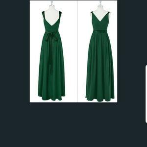 customized Dark Green bridesmaid dress